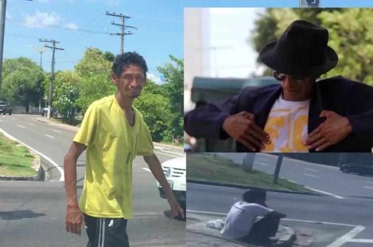 Internautas se mobilizam para ajudar o Michael Jackson do Amazonas que virou morador de rua