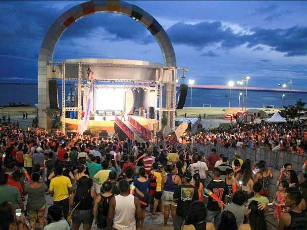 Live Site será aberto ao público nesta terça-feira (2) na Ponta Negra
