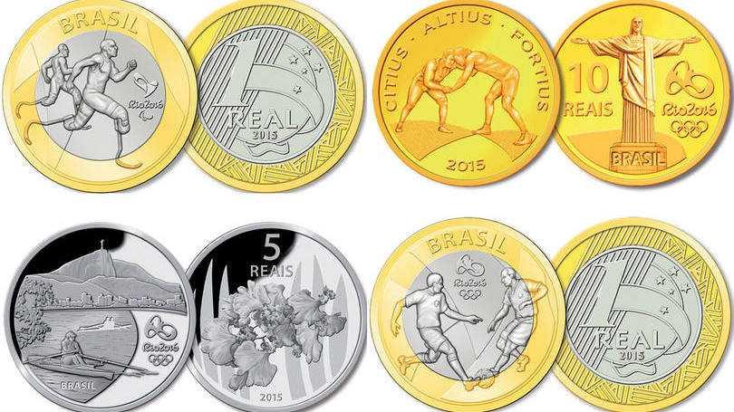Moedas de R$ 1,00 das Olimpíadas do Rio são vendidas por até R$ 100
