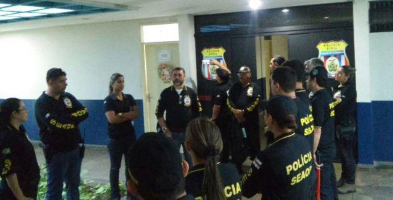 Operação Timbó prende empresários ligados à prefeito no AM / Imagem de divulgação