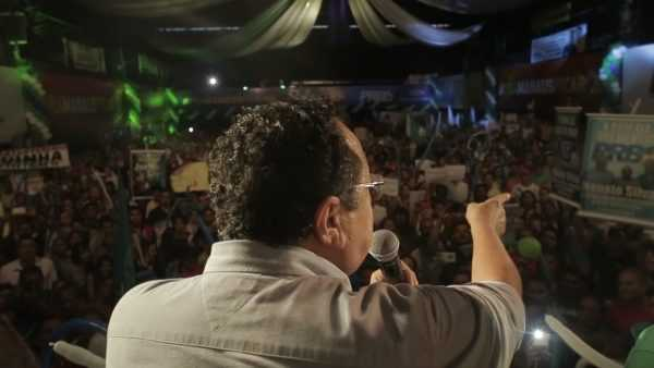 Silas Camara e Coronel Amadeu Soares oficializaram candidatura a Prefeitura de Manaus em Convencao Partidária (1)