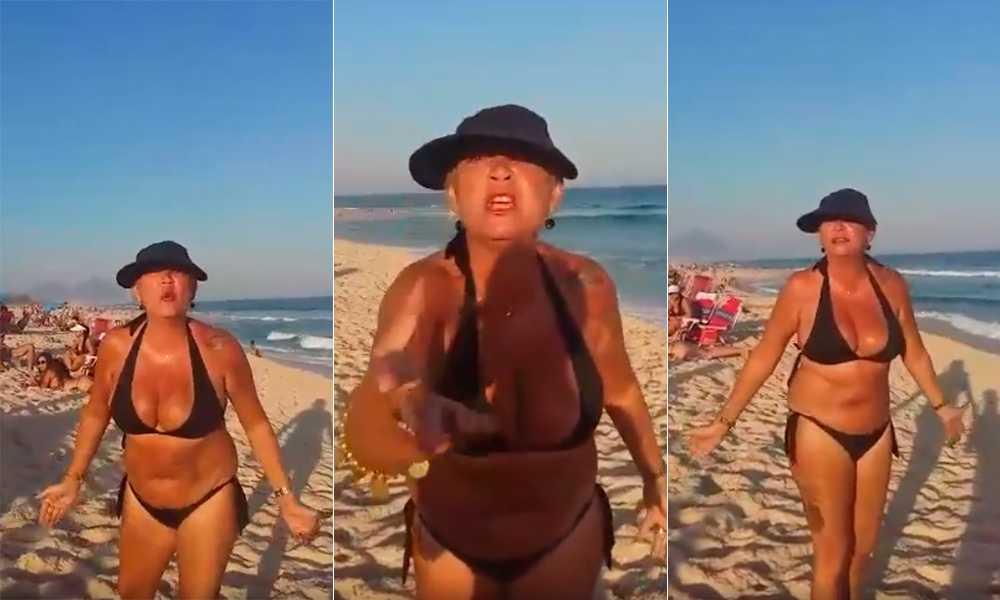 Vídeo registra agressões racistas em praia do Rio