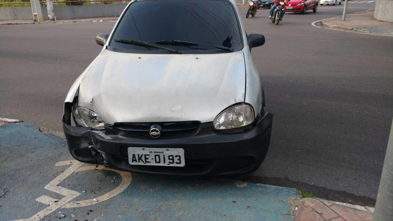 Em Manaus Motorista atropela marronzinho após receber multa