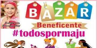 Grupo realiza Bazar Solidário da MaJu para ajudar tratamento da pequena Maria Júlia