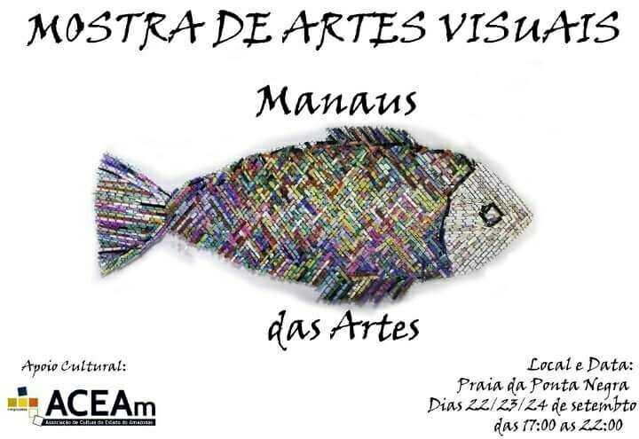 'Manaus das Artes' acontecerá no Complexo Turístico da Ponta Negra