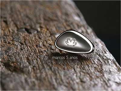 Marco simbólico para comemorar 5 anos de convivência Natura