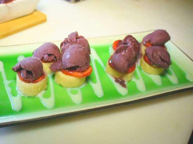 Conheça a deliciosa receita de Hot roll doce com Açaí