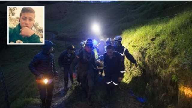 O garoto que auxiliou os bombeiros na busca pelas vítimas da queda do avião da Chapecoense.