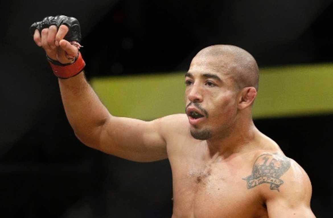 José Aldo confirma retorno para fevereiro no UFC Nova York contra Holloway Foto : AP Photo/John Locher