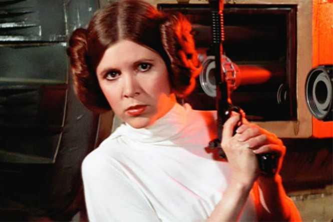 """Carrie Fisher interpretou a princesa Leia de """"Star Wars"""" (Foto: Reprodução)"""