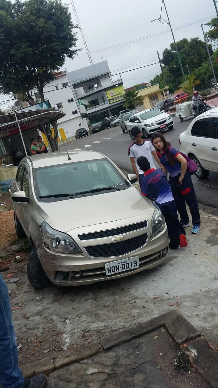 Leonardo de Souza foi o primeiro motorista sem os dois braços a fazer exame para adquirir a Carteira Nacional de Habilitação (CNH) Especial no Amazonas. Imagem enviada via Whatsapp