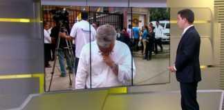 """i Peixoto, da TV Globo, se emocionou nesta quinta-feira (1º), durante o """"Jornal Hoje"""""""
