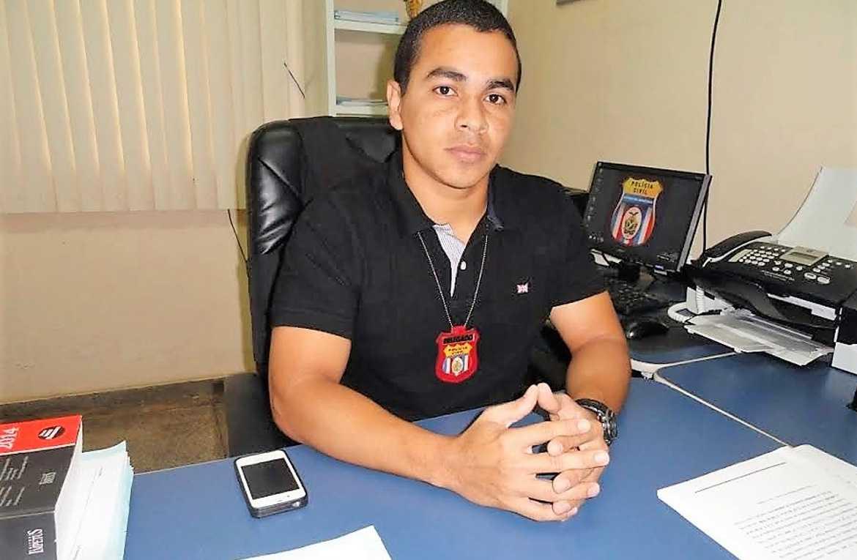 Delegado desaparecido Thiago Garcez que estava no município cobrindo férias do delegado titular / Foto : Divulgação