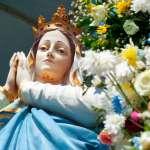 A imagem de Nossa Senhora da Imaculada Conceição