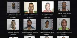 Seap divulga nomes e fotos dos presos que fugiram do Compaj nesta sexta