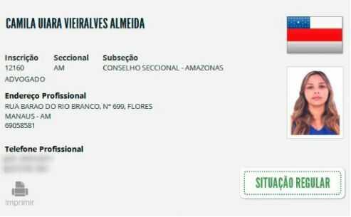 Camila Uiara Vieralves Almeida recebeu autorização para visitar o preso dentro Compaj - Imagem de divulgação