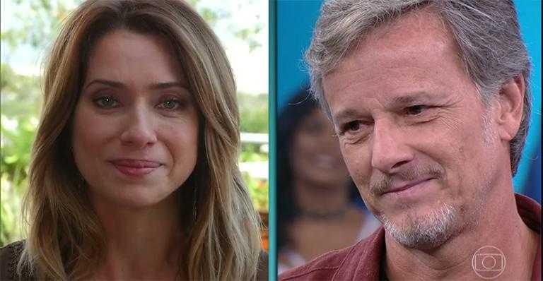 Marcello Novaes e Letícia Spiller - Imagem de reprodução:  Globo