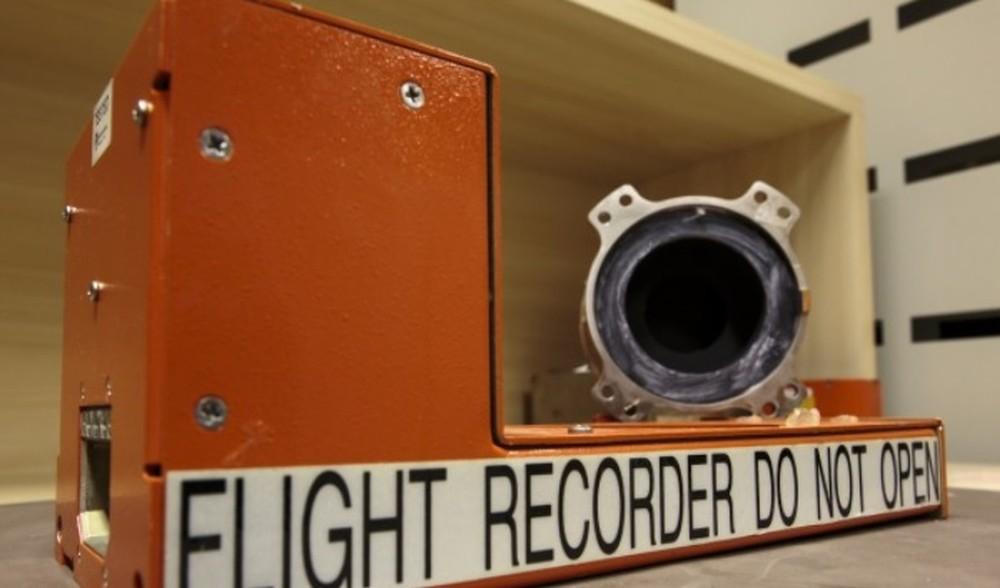 Gravador de voz da aeronave que caiu com o ministro do STF Teori Zavascki (Foto: Agência Força Aérea / Cabo Feitosa)