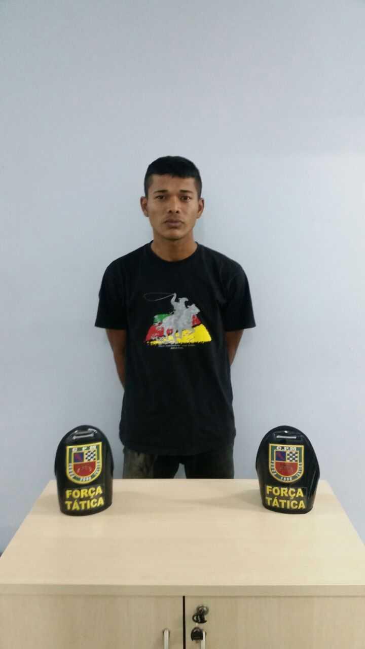Rodrigo de Souza Duarte, 21 Anos, foragido foi preso durante abordagem da Policia