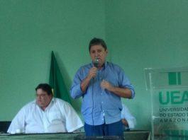 Prefeito de Presidente Figueiredo, Romeiro Mendonça - Imagem: No Amazonas é Assim