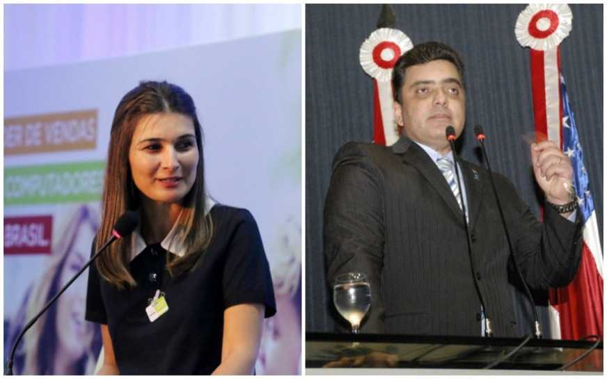 Chapa de Rebecca Garcia e Abdala Fraxe teve seu registro negado pelo TRE / Divulgação