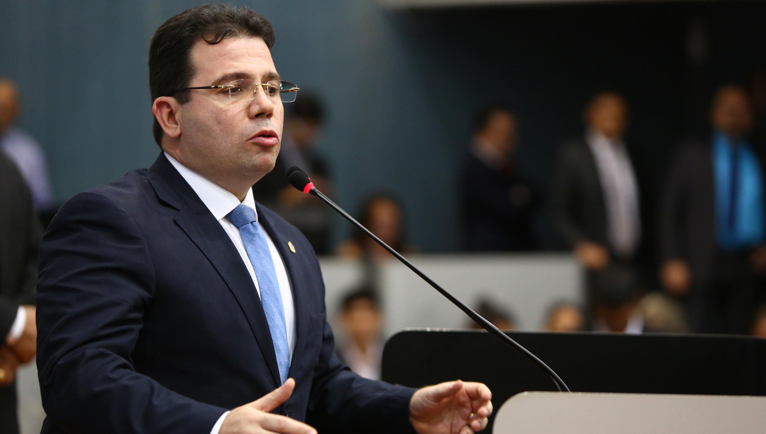 Vereador Wilker Barreto (PHS) / Foto: Tiago Corrêa - Dircom CMM