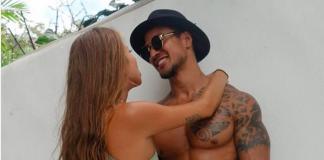 O ator australiano Johann Ofner com a namorada, Kati Garnett (Foto: Instagram)