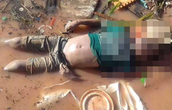 Cadáver foi encontrado no Rio Negro próximo a Manaus Moderna Moderna/Foto: Divulgação