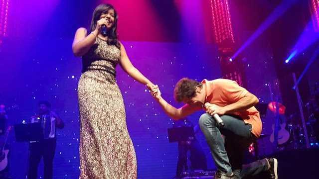 Jéssica, filha de João Paulo, canta com Daniel / Imagem de divulgação