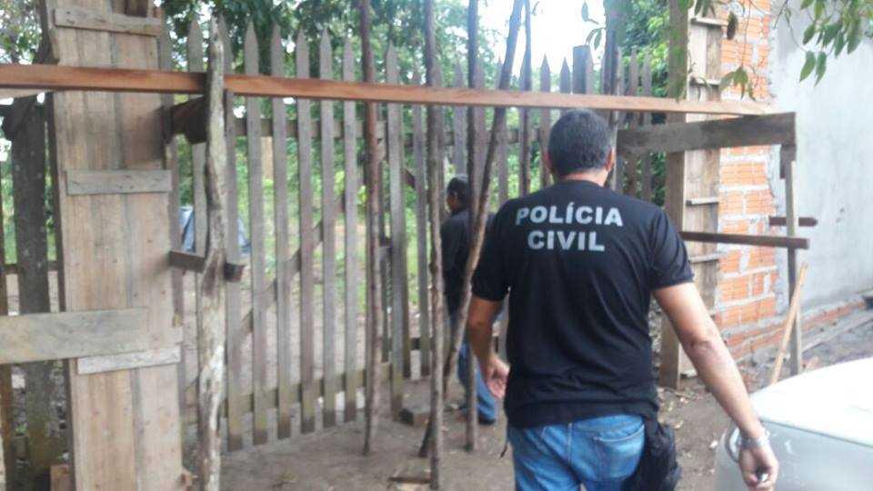 Polícia Civil cumpre mandado de busca e apreensão / Divulgação