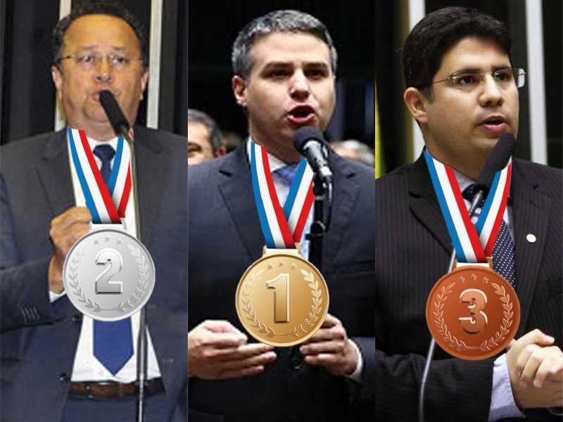 Os deputados federais amazonenses mais faltosos em 2016