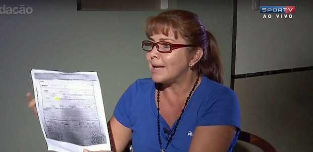 Celia Castedo em entrevista ao SporTV
