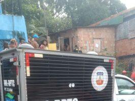 Criança morre carbonizada em incêndio na Zona Leste de Manaus - Imagem enviada via whatsapp