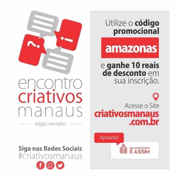 Encontro Criativos Manaus - Edição Vermelho
