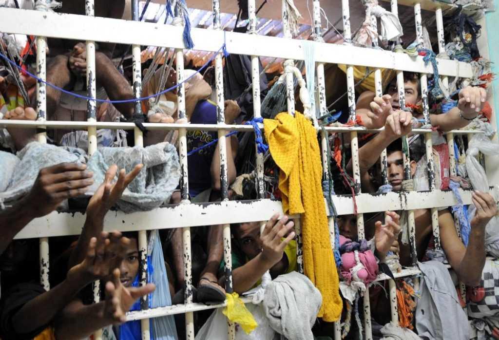Super lotação em cadeias brasileiras - Imagem de divulgação