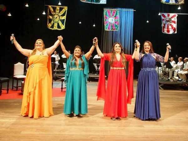 Quarteto Elas Cantam Samba prepara lançamento de CD e DVD ' no Teatro Amazonas / Divulgação