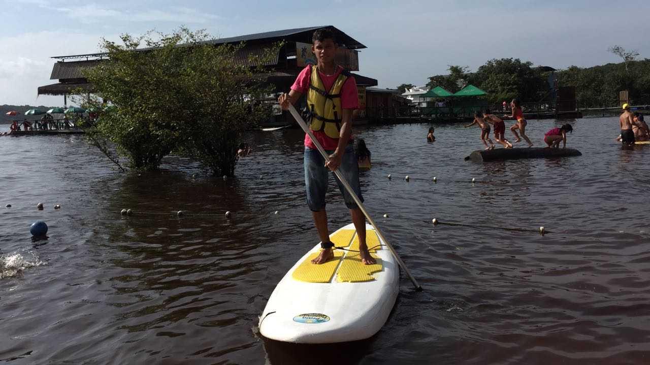 sup ecológico praia dourada / Divulgação
