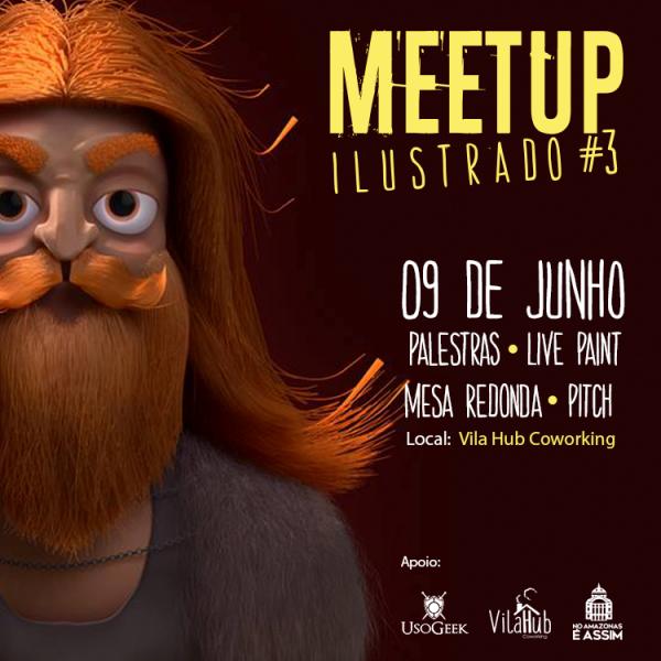 3ª Edição do Meetup Ilustrado