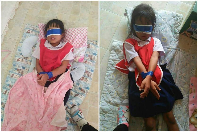 Antes de serem amarradas, ainda de acordo com a imprensa local, elas foram humilhadas na frente de outros alunos - Imagem The Sun