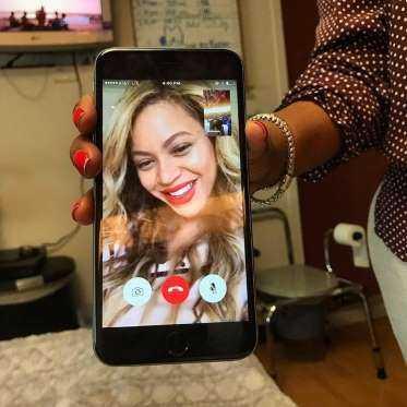 Fã com câncer morre após receber ligação de Beyoncé - Imagem:Instagram