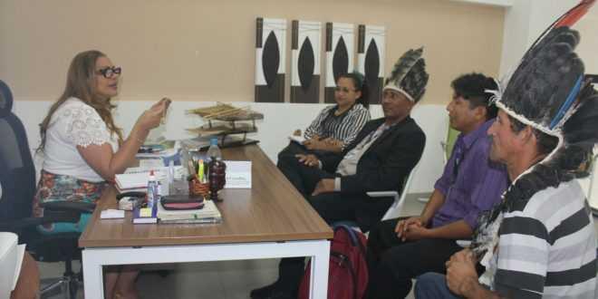 Fundação Estadual do Índio (FEI) e a Amazonastur sinalizam parceria para alavancar turismo étnico-cultural / Divulgação