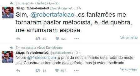 Padre Fábio de Melo comenta falsa notícia sobre casamento: 'Fanfarrões. A gente morre e não vê tudo'
