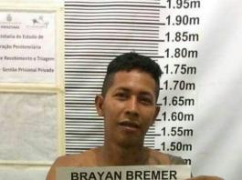 Bryan Bremer recapturado - Imagem de divulgação