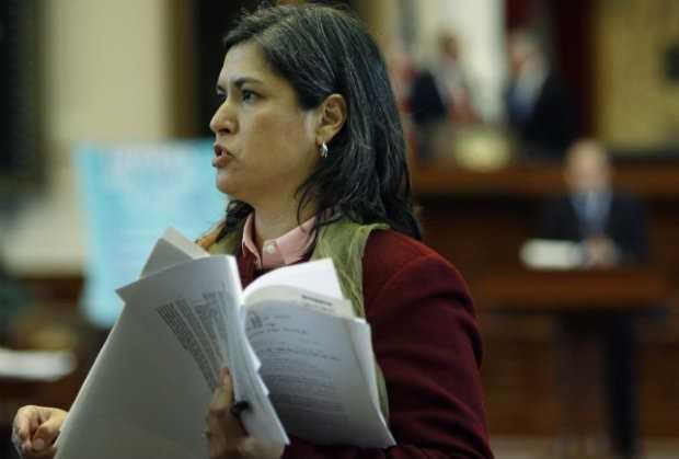 Para protestar contra legislação antiaborto que criminaliza e humilha a mulher, Jessica Farrar apresentou projeto de lei surreal / Divulgação