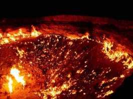 A porta do inferno - Darvaza – Turkmenistão