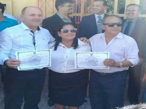 Prefeito de Anamã é diplomado e empossado/Foto: Divulgação