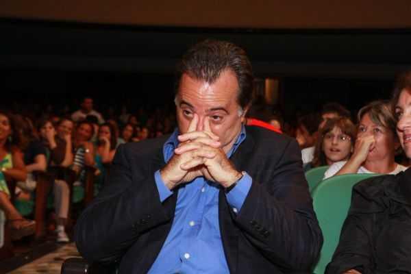 Tony Ramos chora emocionado / Alex Palarea / AgNews