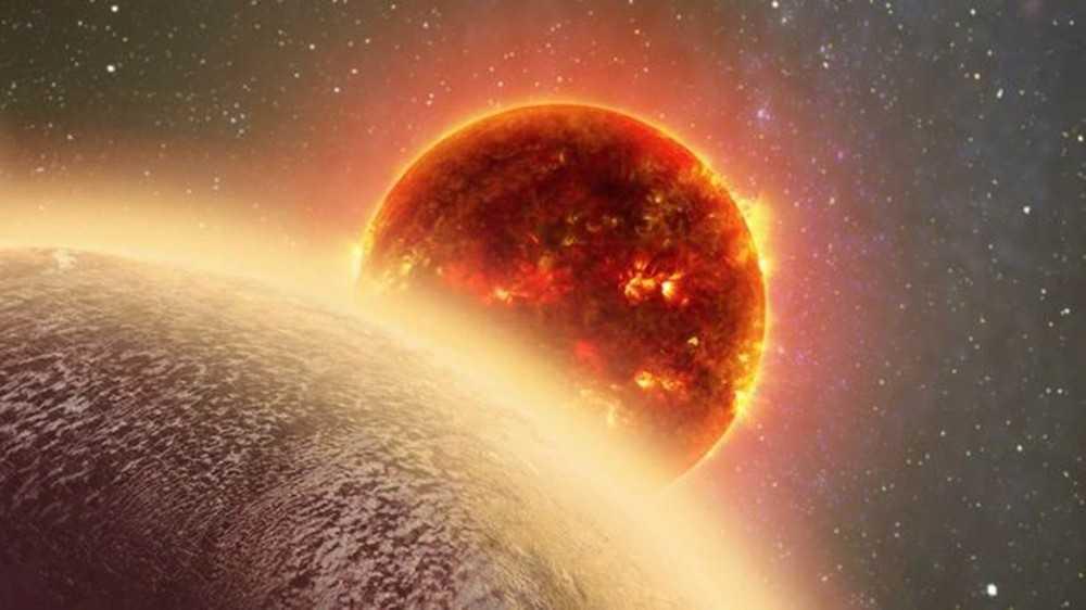 Atmosfera do planeta GJ 1132b pode conter água ou metano (Foto: DANA BERRY)