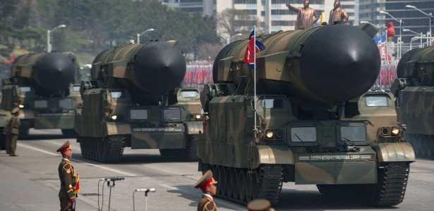 """Coreia do Norte alerta para ataque preventivo """"superpoderoso"""" - Imagem de divulgação"""