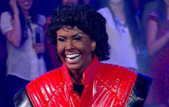 Joelma se transforma em Michael Jackson e aparece irreconhecível - Imagem de divulgação